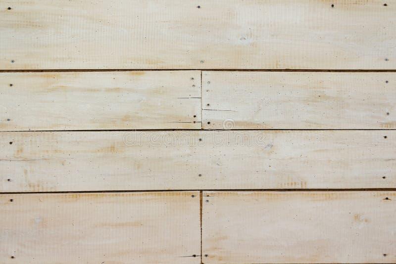 Mur en bois blanc, texture détaillée de photo de fond Fin en bois en pastel de barrière de planche  photos stock