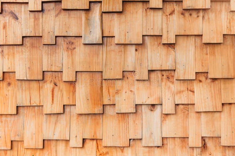 Mur en bois de modèle de style de casse-tête images stock
