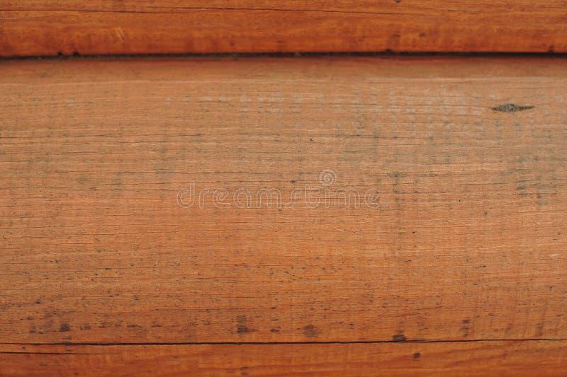 Mur en bois des logarithmes naturels images libres de droits
