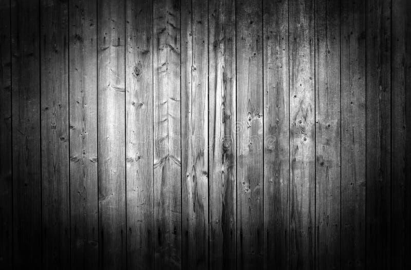 Mur en bois noir et blanc images stock