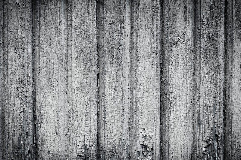 Mur en bois noir et blanc de fond images libres de droits