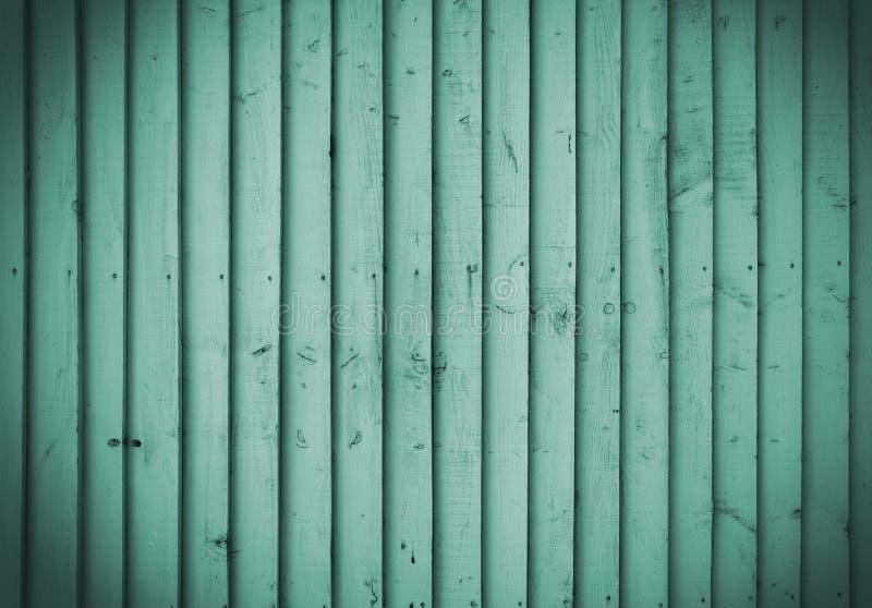Mur en bois vert image libre de droits