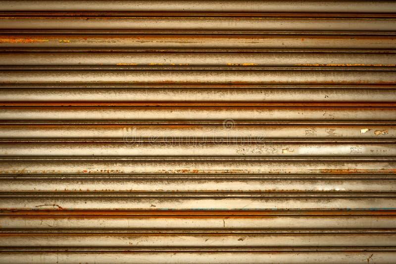 Mur en métal image libre de droits