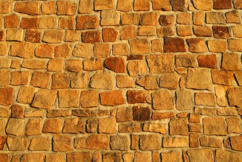 Mur en pierre photographie stock