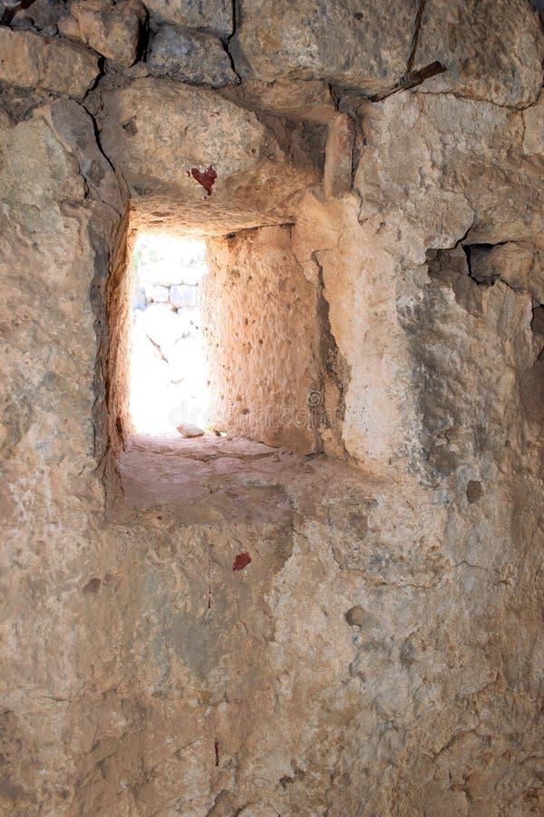 Mur en pierre antique photo stock