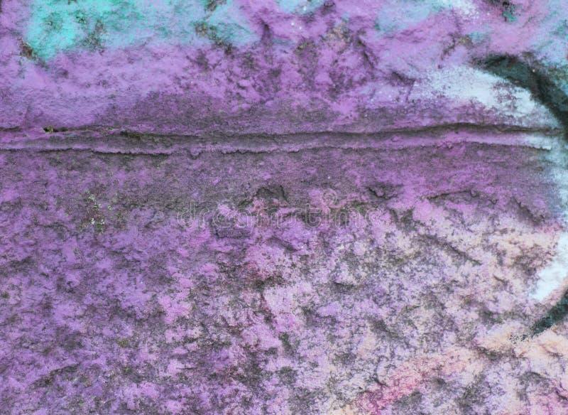 Mur en pierre coloré photo libre de droits
