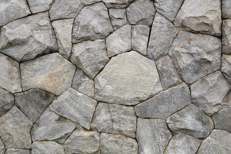 Mur en pierre comme fond ou texture image libre de droits