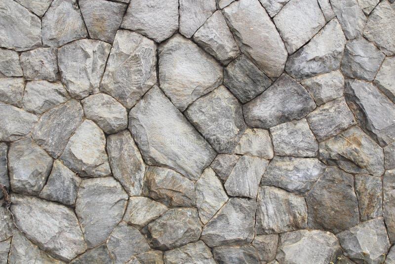 Mur en pierre comme fond ou texture images libres de droits