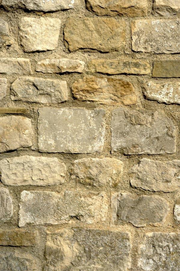 Mur en pierre d'église photos libres de droits