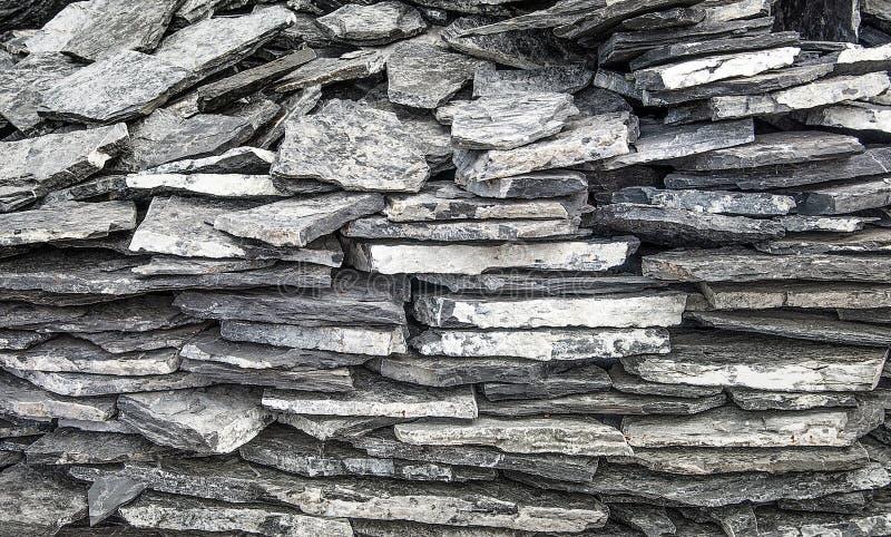 mur en pierre d 39 ardoise photo stock image du roche. Black Bedroom Furniture Sets. Home Design Ideas