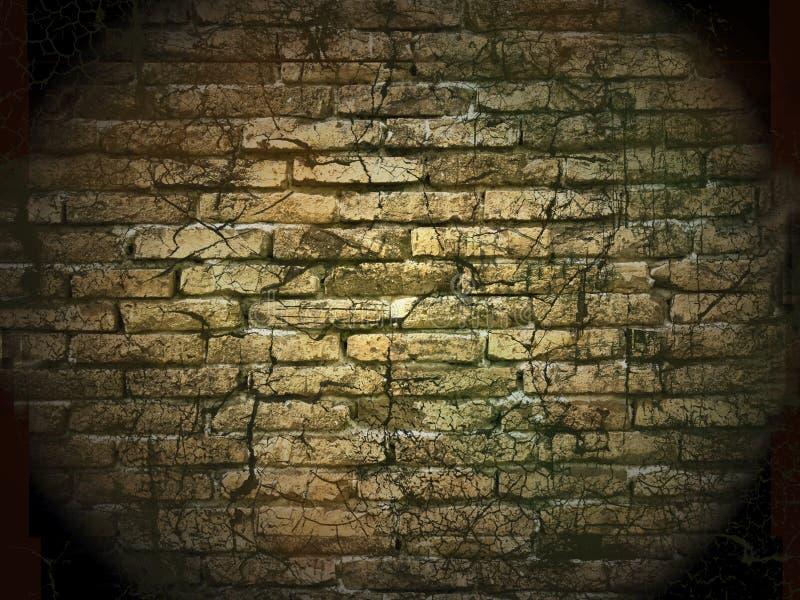Mur en pierre de cru illustration libre de droits
