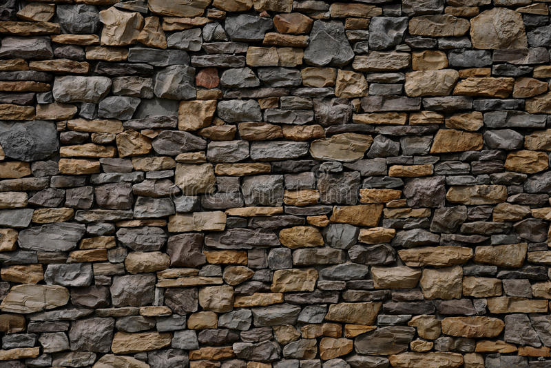 Mur en pierre de fragment photos stock