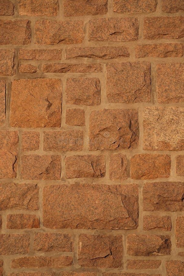 Mur en pierre de granit photo stock