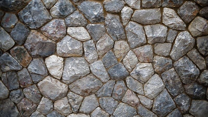 Mur en pierre foncé photo libre de droits