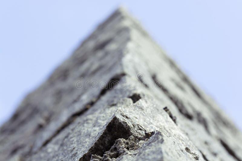 Mur en pierre Macro tir photographie stock libre de droits