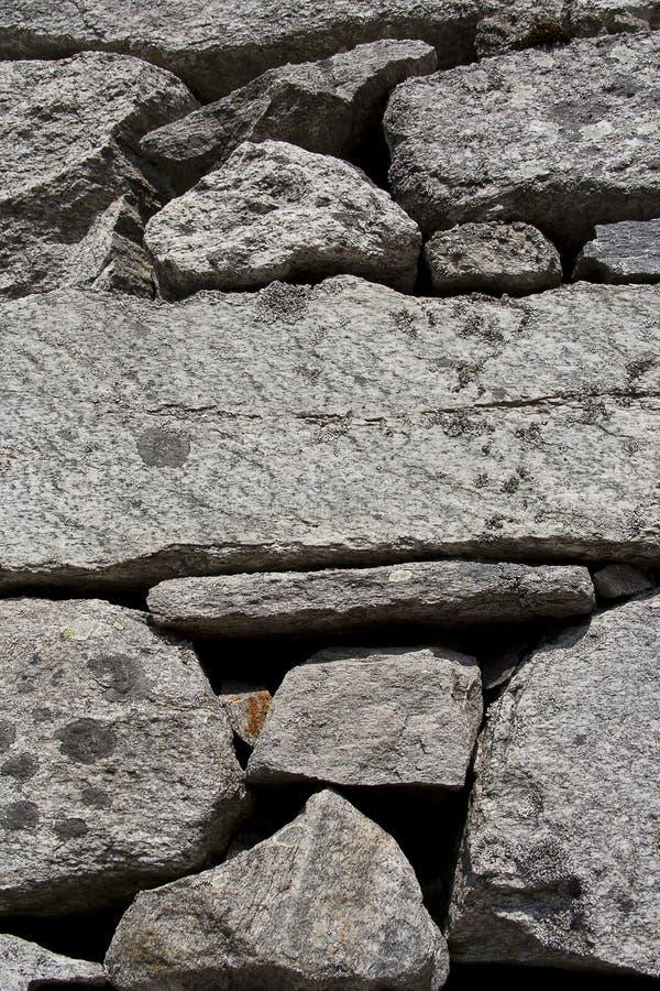 Mur en pierre normal photo libre de droits