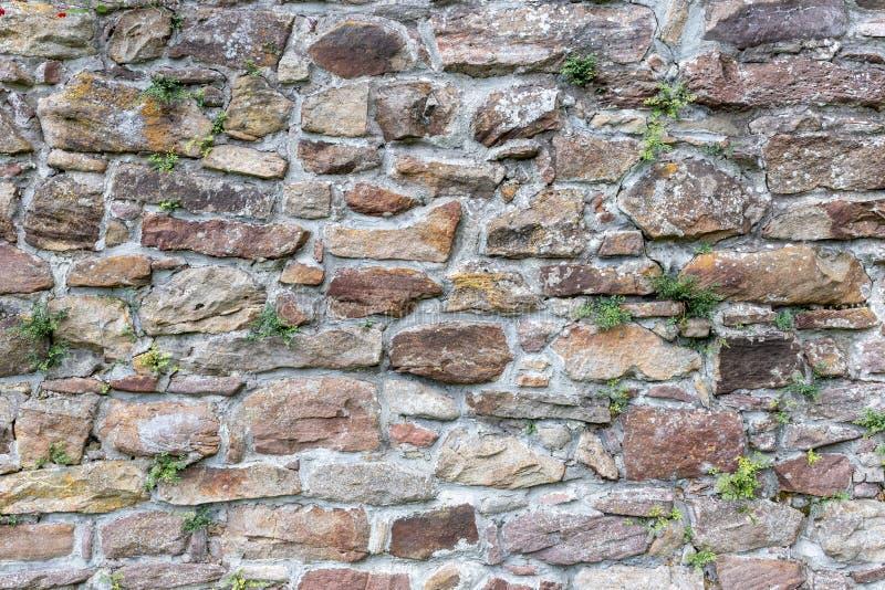 Mur en pierre pour l'usage comme fond photographie stock libre de droits