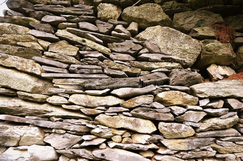 Download Mur En Pierre Traditionnel Des Alpes Européennes Photo stock - Image du tuile, surface: 76078222