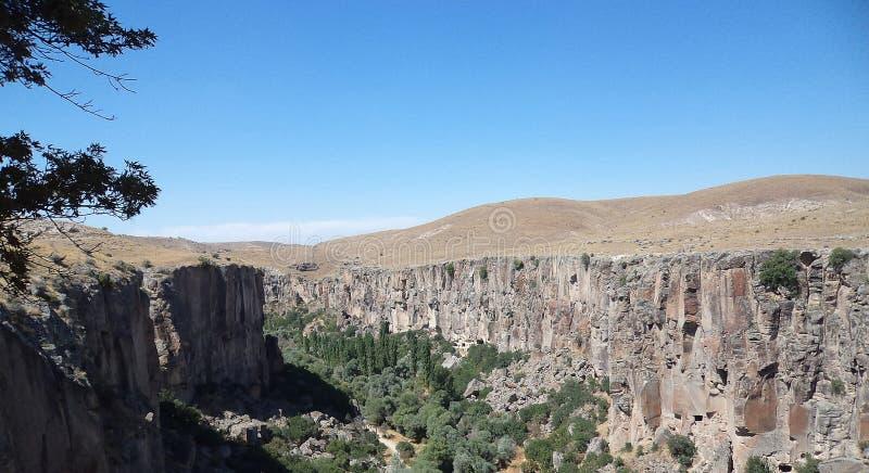 Mur en pierre, vallée photographie stock