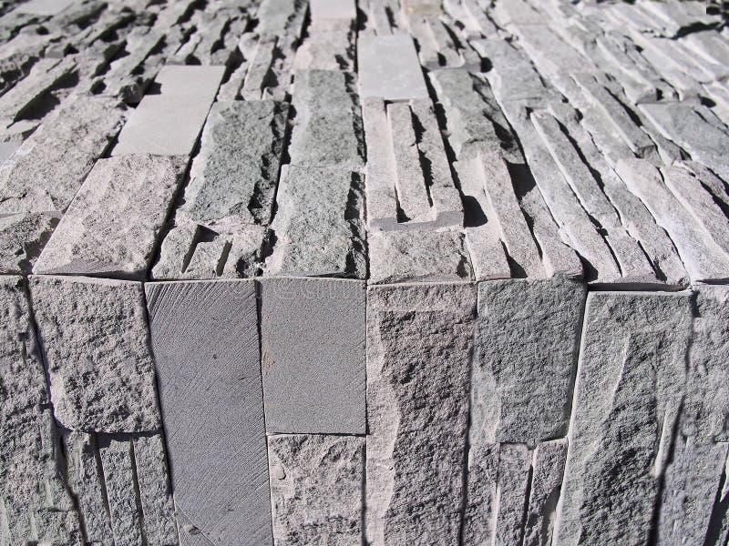 Mur et plancher de Gray Brick photographie stock libre de droits