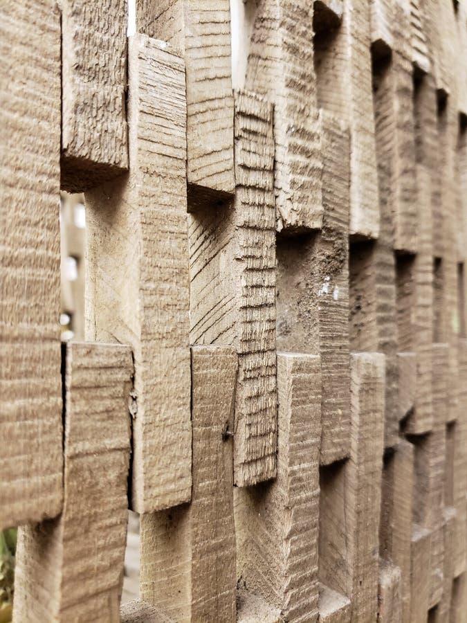 Mur fait de couper les textures et le fond en bois photo libre de droits