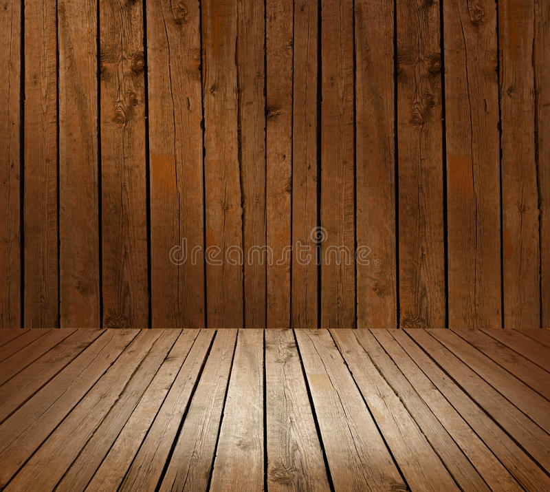 Mur fait de planches en bois image stock