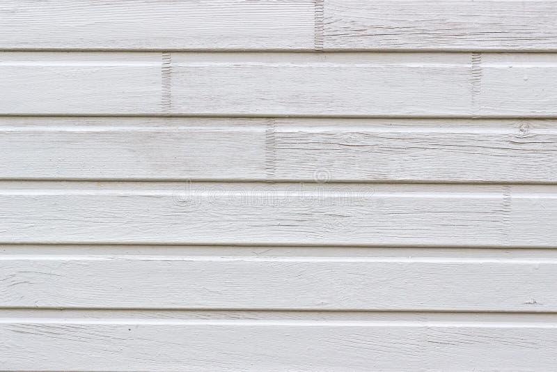 Mur fait de planches en bois peintes Texture, fond photographie stock libre de droits