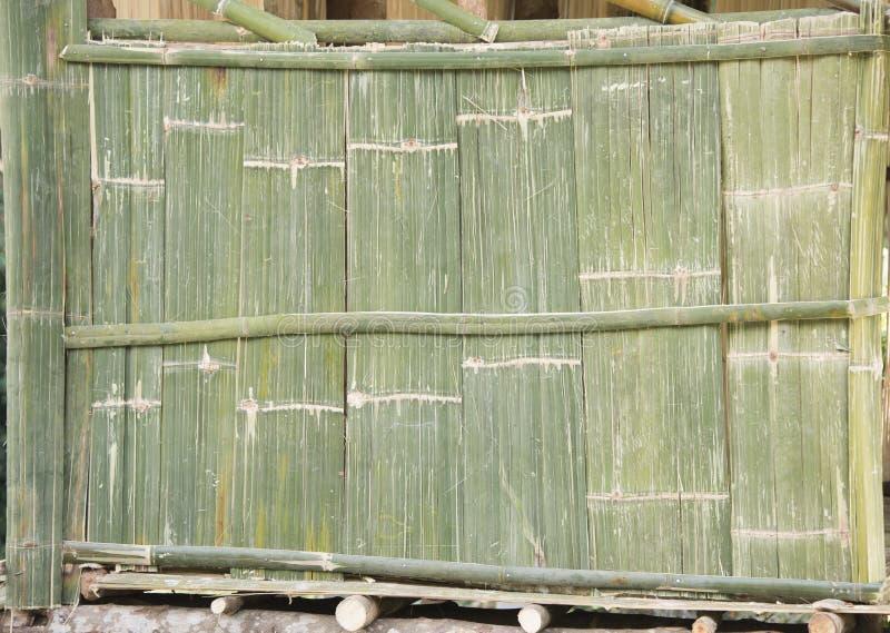 Mur fait de roseau photos stock