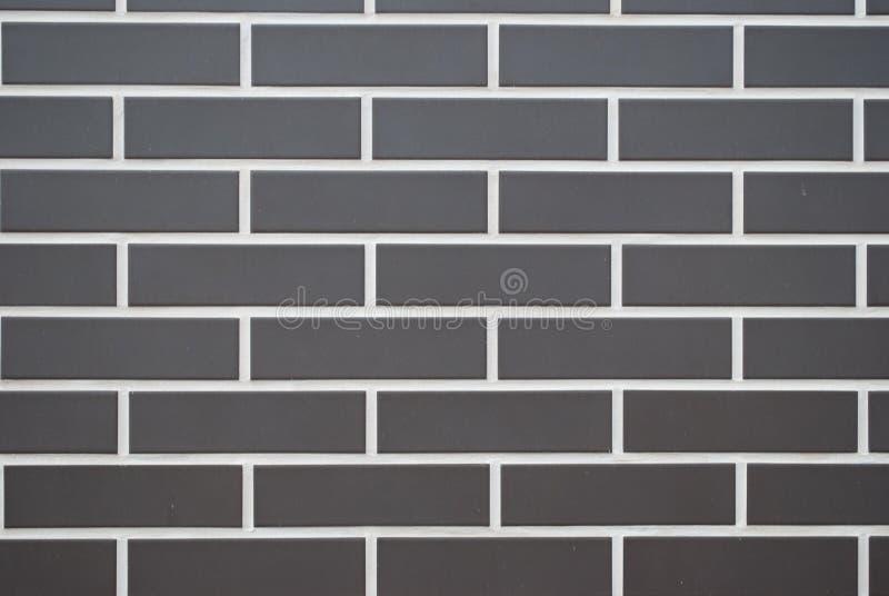 Mur gris de brique, rayures blanches images libres de droits
