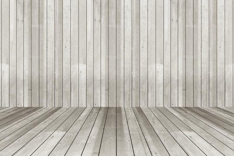 Mur gris et fond en bois photographie stock