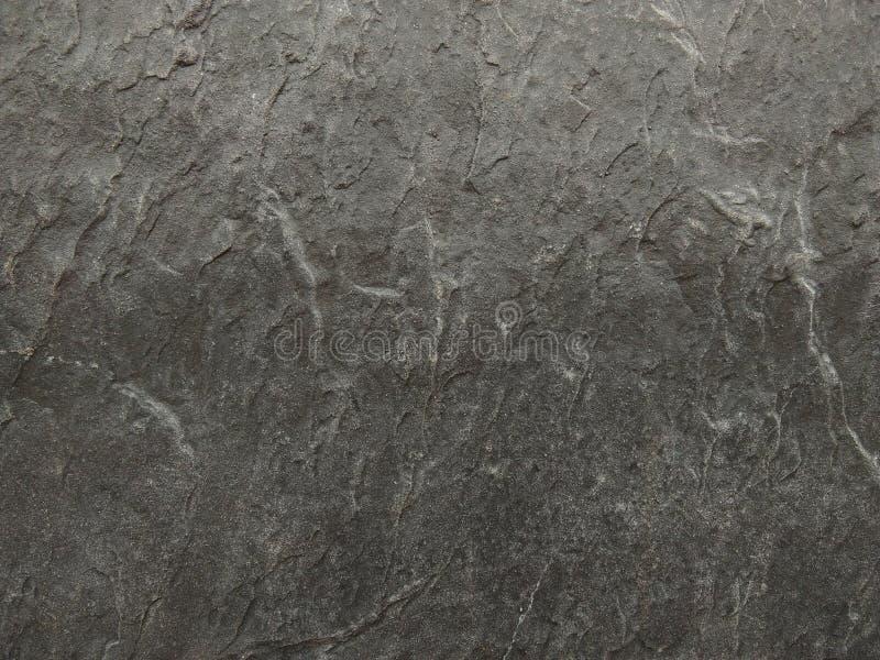 Mur gris-foncé de granit photographie stock