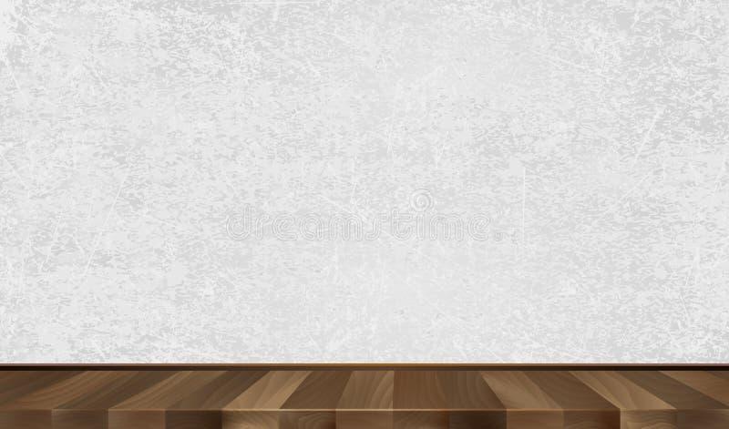 Mur gris parquet en bois fond illustration de vecteur illustration de vecteur illustration du - Fond dur parquet ...