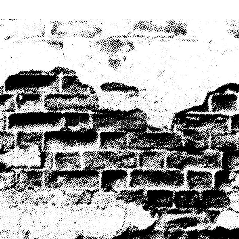 Mur grunge illustration libre de droits