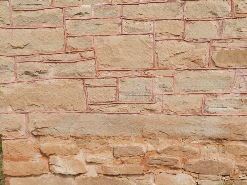 Mur historique de Chambre d'école image stock