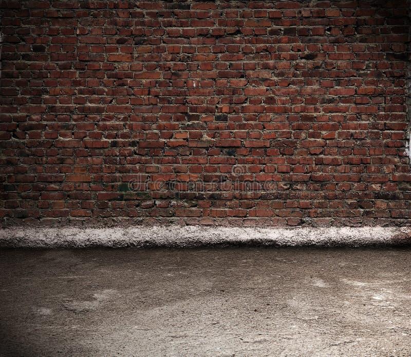 mur intérieur de brique vieux photo libre de droits