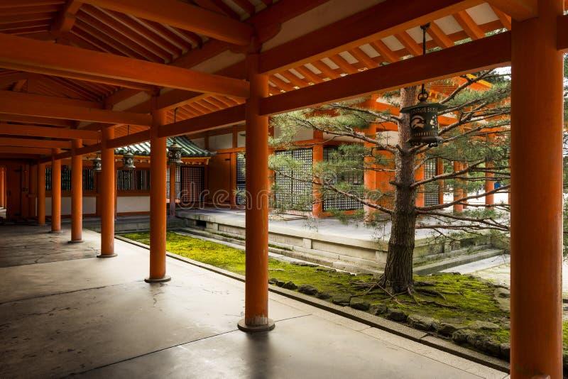 Mur intérieur de tombeau de Heian ; Kyoto ; Japon image libre de droits