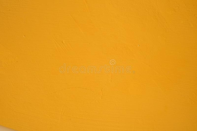 Mur jaune photo stock