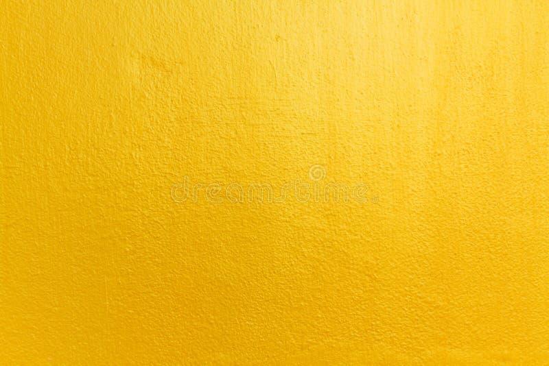 Mur jaune photo stock