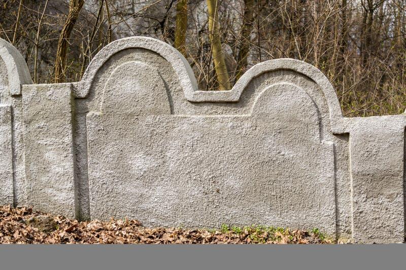 Mur juif de ghetto, Cracovie, Pologne photographie stock libre de droits