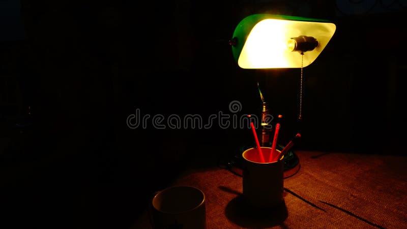 mur léger de lamba d'ışık de lampe photographie stock libre de droits