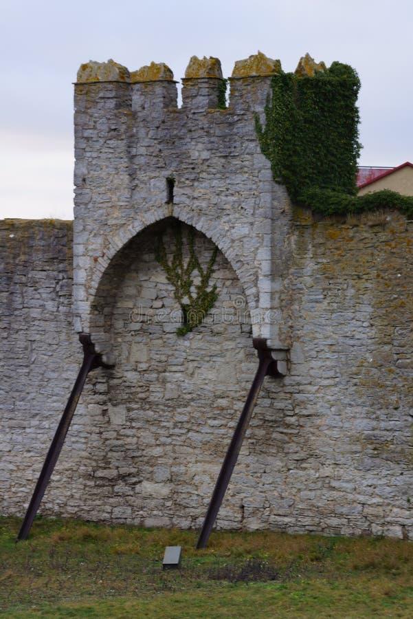 Mur médiéval photo stock