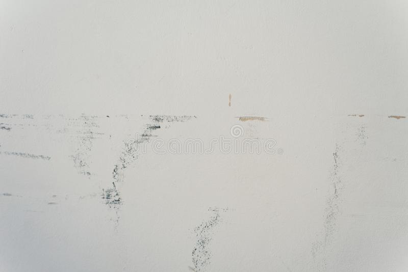 Mur minable blanc Vieux fond minable images stock