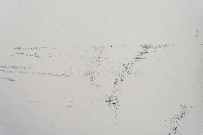 Mur minable blanc Vieux fond minable photos stock