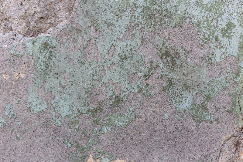 Mur minable de plâtre images stock