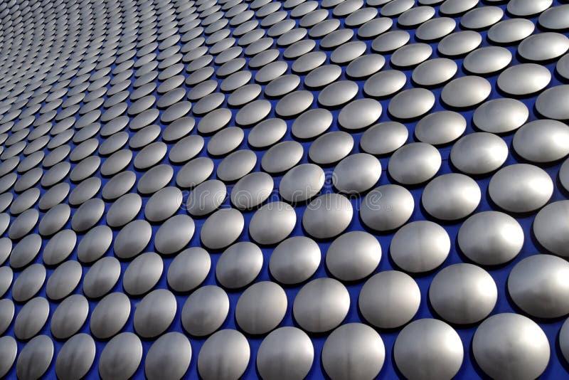 Mur moderne abstrait au centre de la ville de Birmingham photo libre de droits
