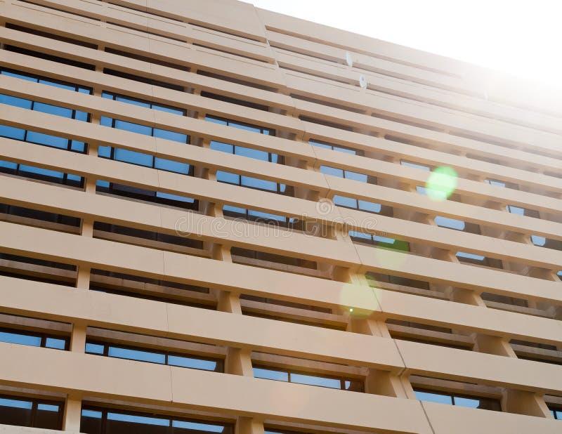 Mur moderne de construction image libre de droits
