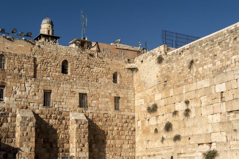 Mur occidental de Jérusalem photographie stock
