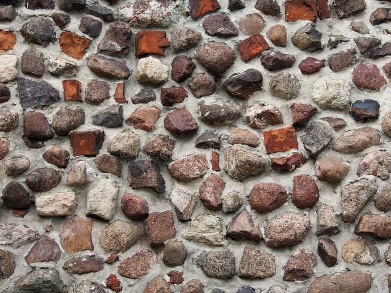 Mur pierreux photographie stock
