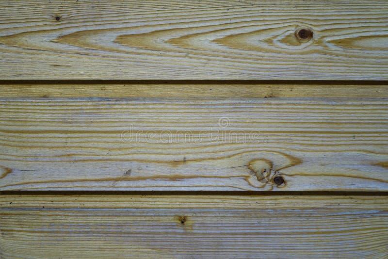 Mur, planches en bois, pin La texture de l'arbre Fond photos stock