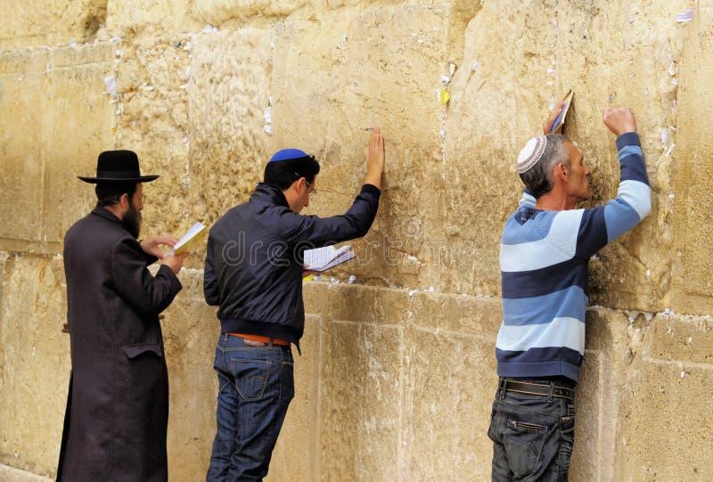 Mur pleurant image libre de droits